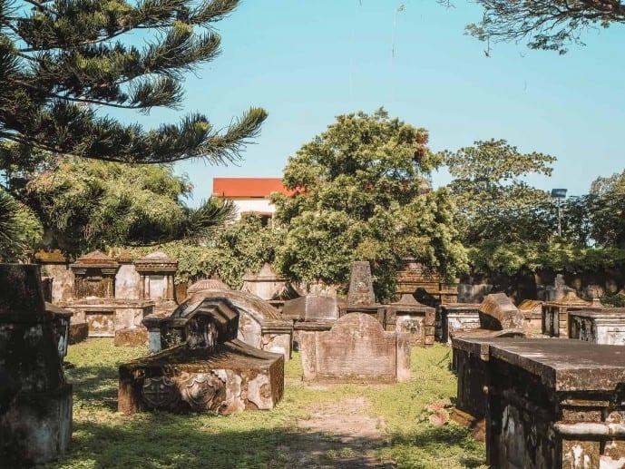 The Dutch Cemetery Fort Kochi
