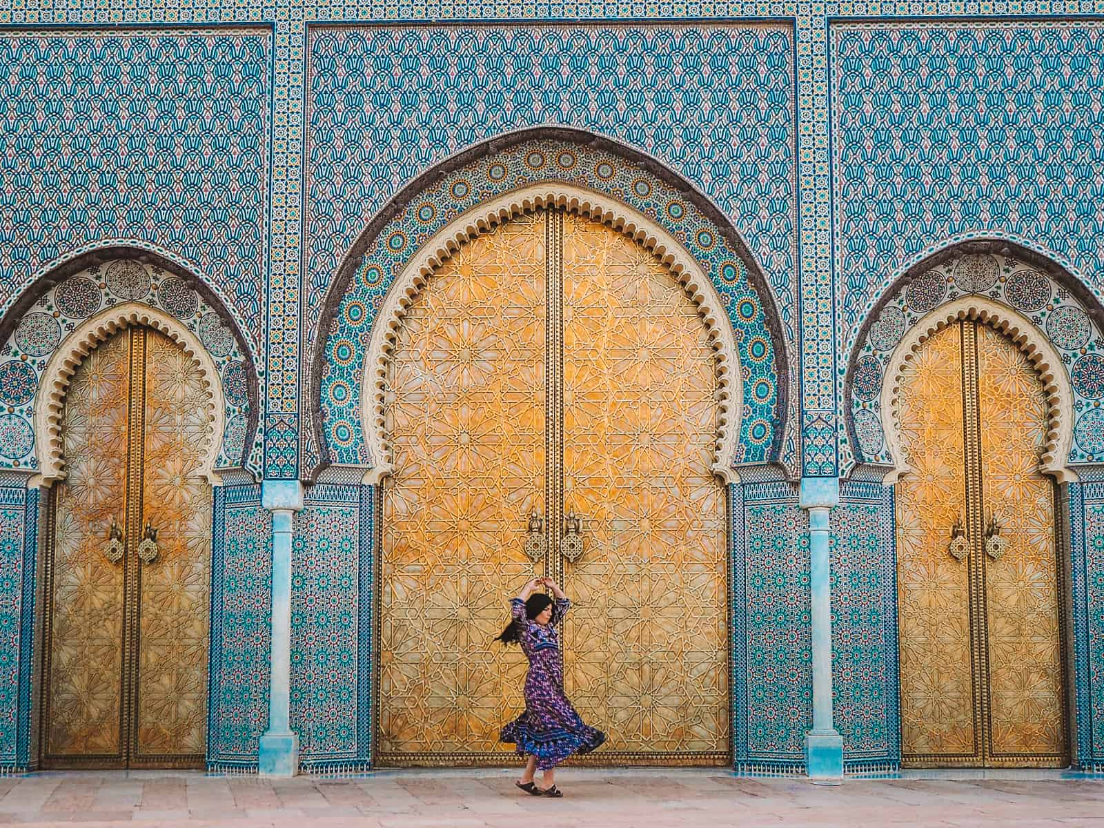 Fez Royal Palace Doors | Fes Palais Royal