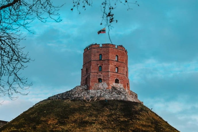 Gediminas Tower of the Upper Castle Vilnius