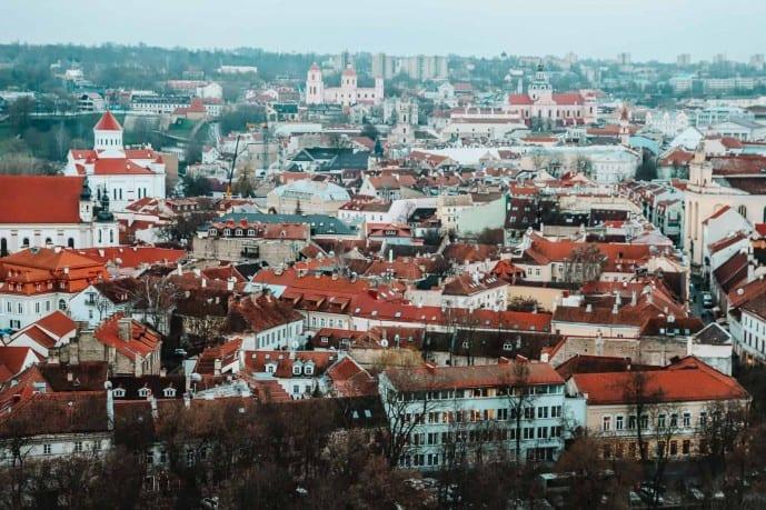 Gediminas Tower View