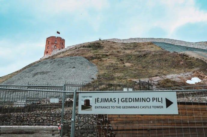 Gediminas Tower of the Upper Castle Vilnius