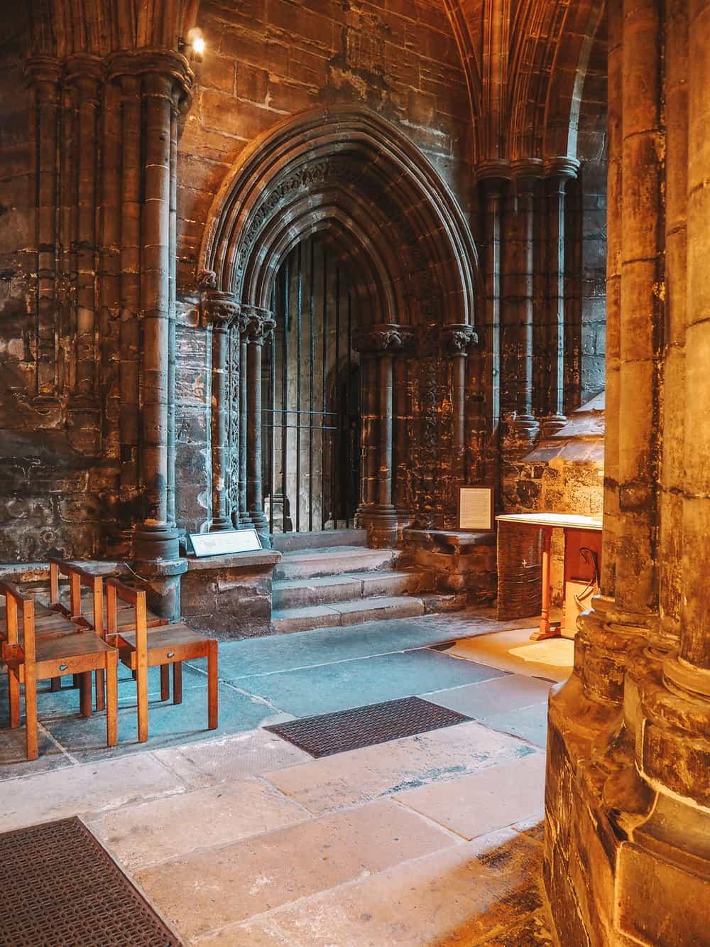 Glasgow Cathedral Outlander L'Hopital Des Anges