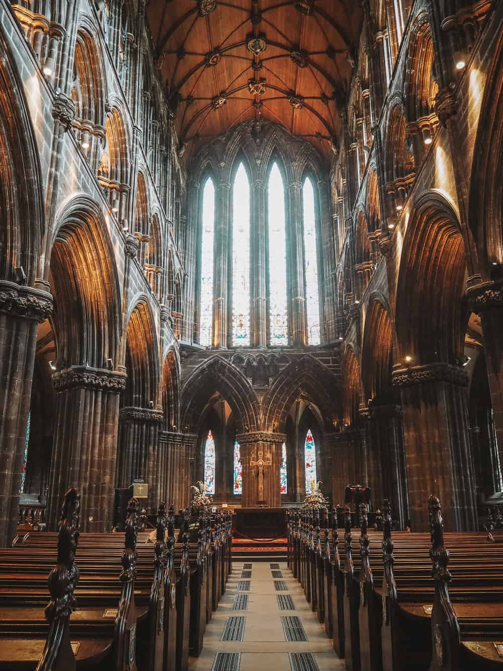 Glasgow Cathedral Outlander location L'Hopital Des Anges