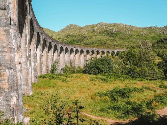 Harry Potter Train Glenfinnan Viaduct Trail