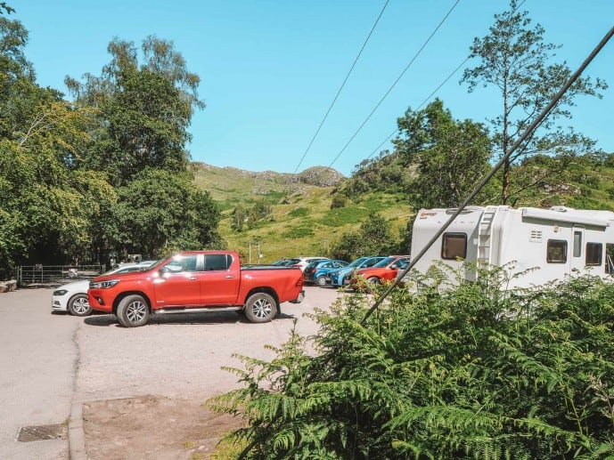 Where to park for Glenfinnan Viaduct Viewpoint
