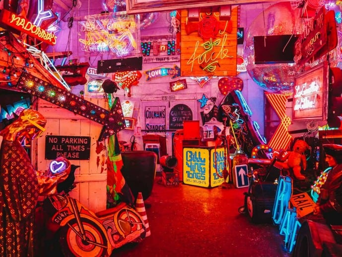 Gods Own Junkyard Neon museum London