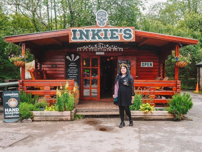 Golitha Falls cafe | Inkie's smokehouse