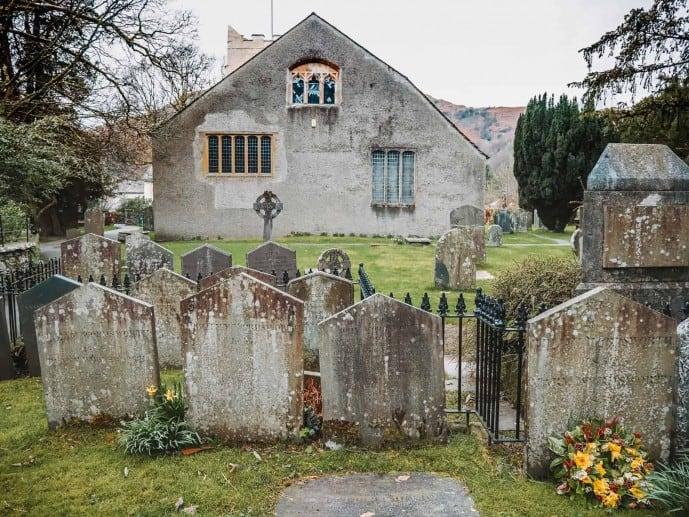 William Wordsworth's Grave in Grasmere