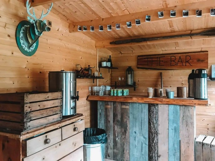 The Bar Hut at Graythwaite Adventure