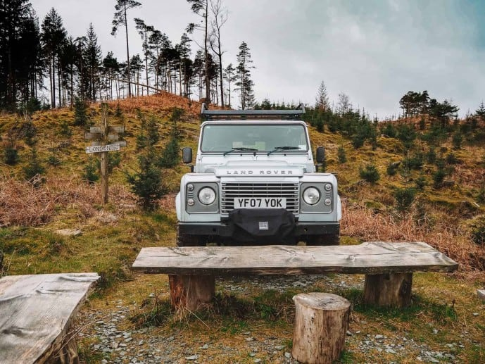 Graythwaite Adventure Land Rover