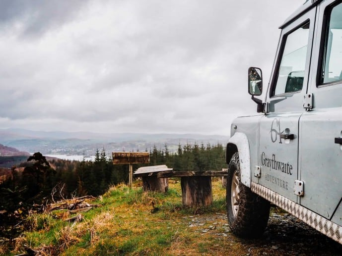 Graythwaite Adventure Off Road Driving Cumbria