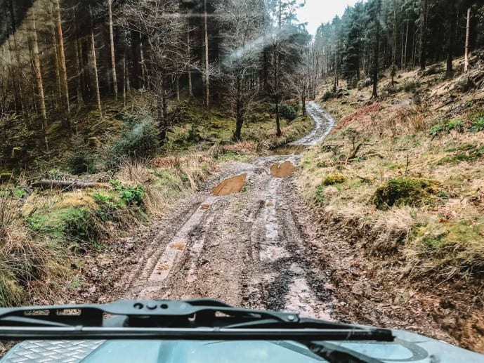 Graythwaite Adventure | The Graythwaite Estate off-road driving course