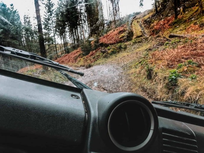 Graythwaite Adventure Off-Road driving in Cumbria