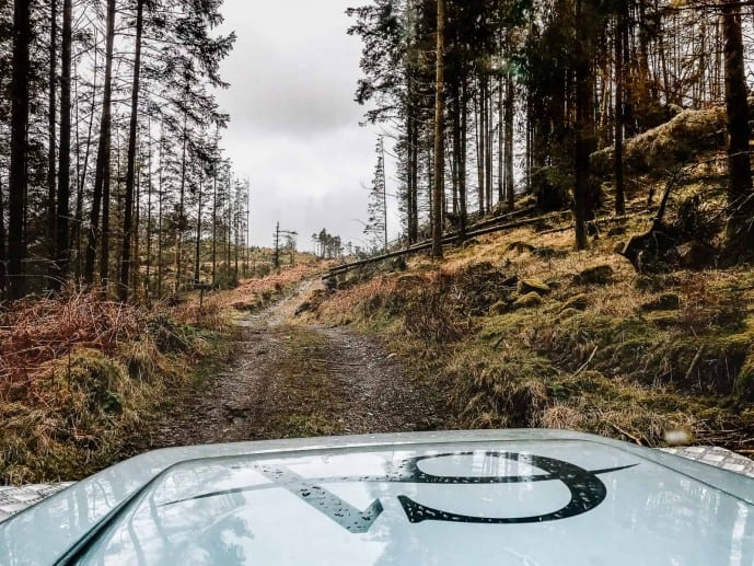 Off-road driving in Cumbria