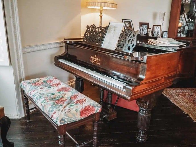 Agatha Christie Piano at Greenway