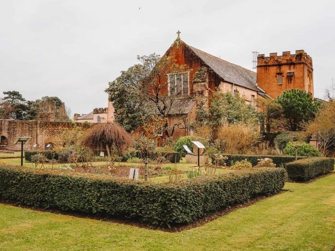 Torre Abbey Potent Plant Garden