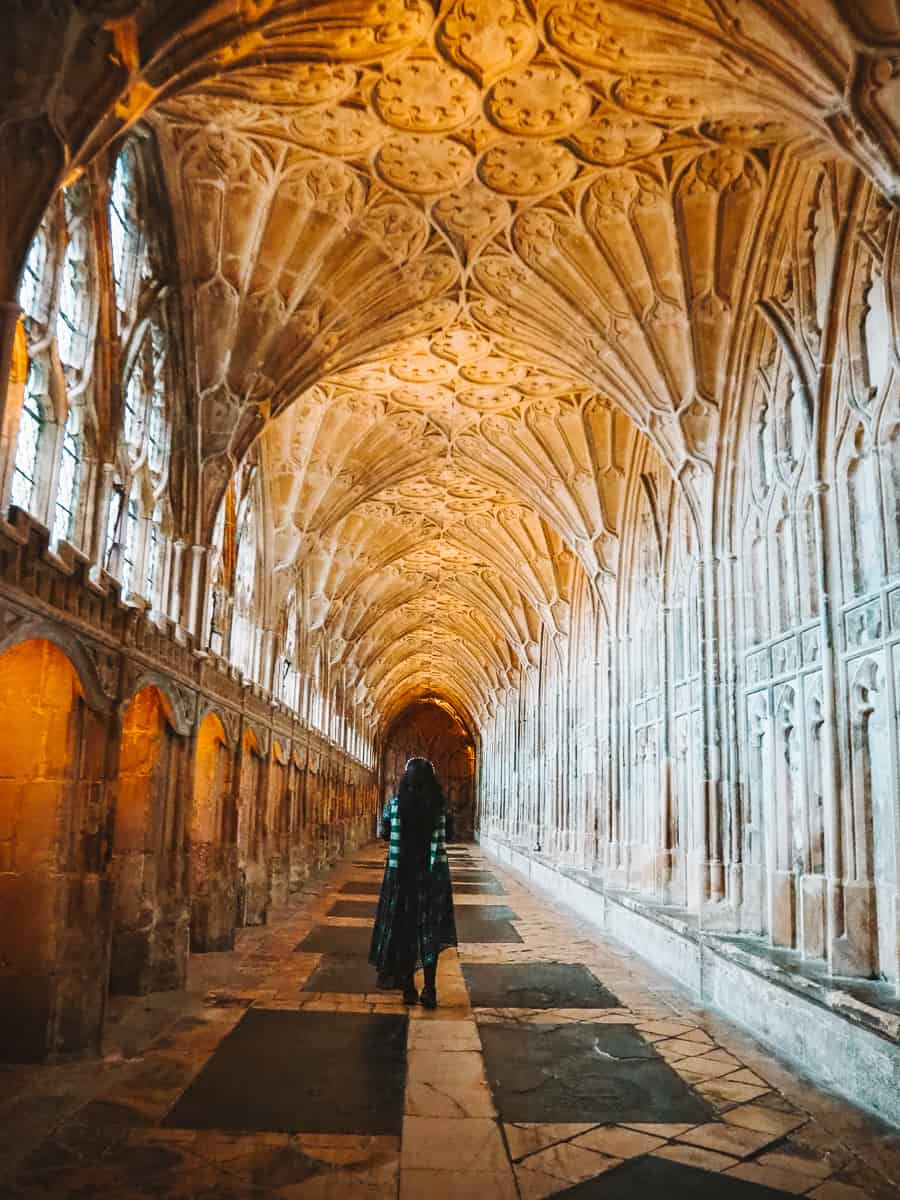 Gloucester Cathedral Harry Potter scenes