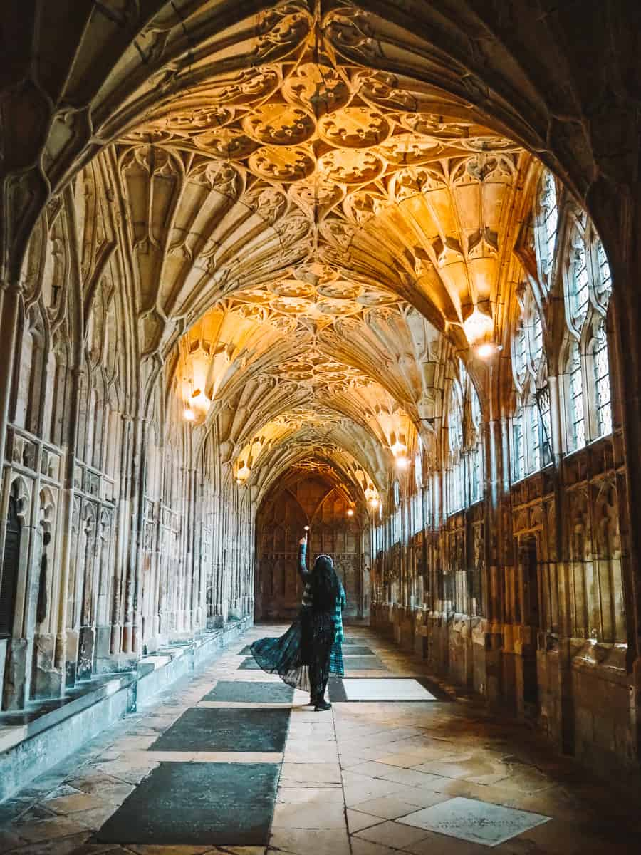 Gloucester Cathedral Harry Potter filming locations