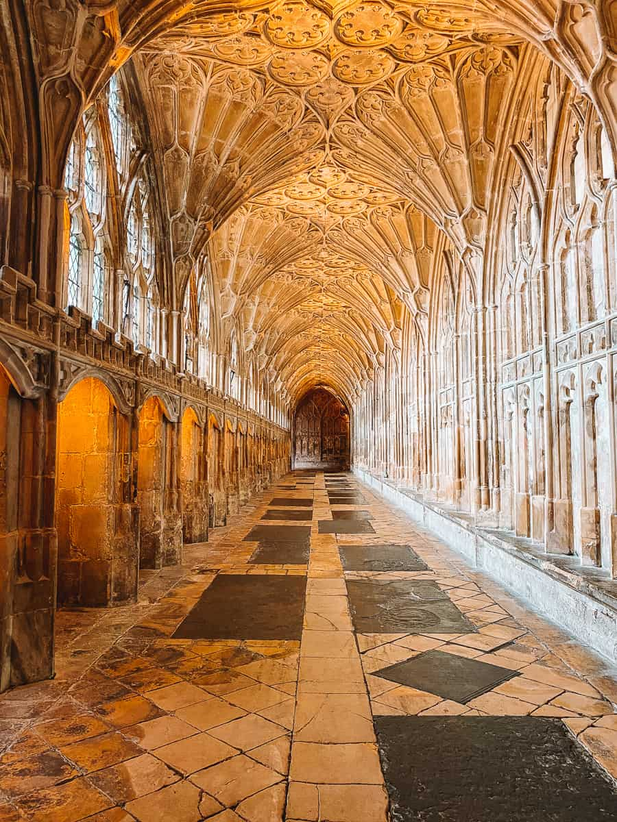 Hogwarts Corridors Gloucester Cathedral Harry Potter filming locations