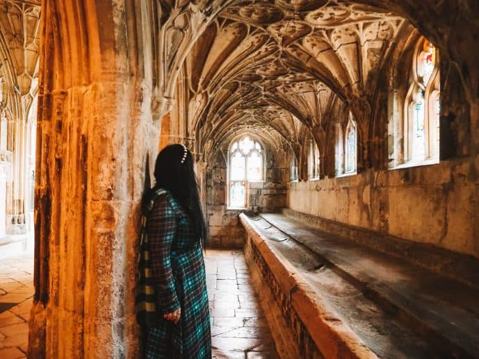 Gloucester Cathedral Harry Potter filming location the Lavatorium
