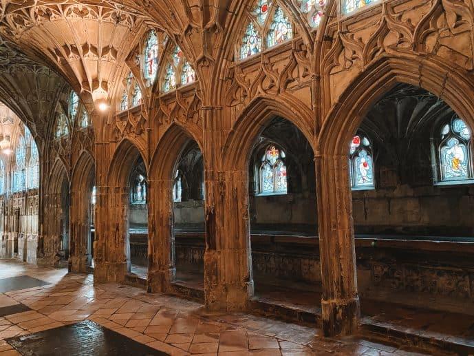The Lavatorium Gloucester Cathedral