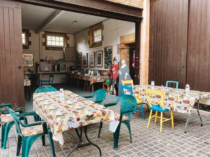 Great Chalfield Manor tearooms