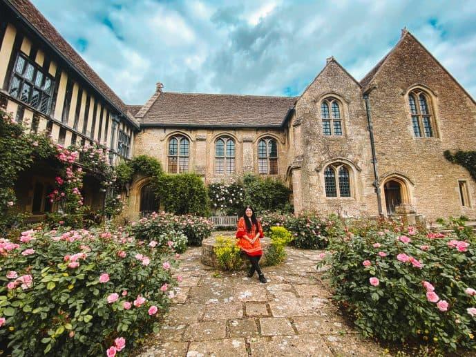 Great Chalfield Manor Rose Garden