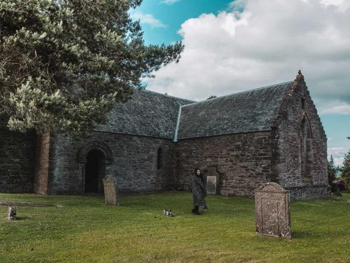 Tullibardine Chapel Outlander location