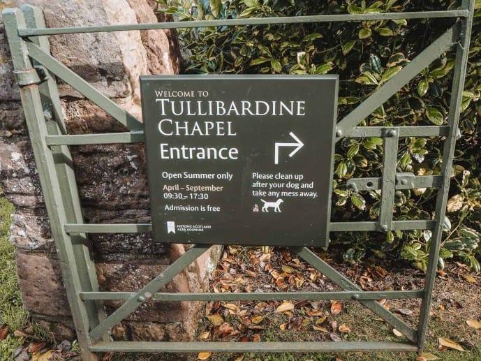 Tullibardine Chapel