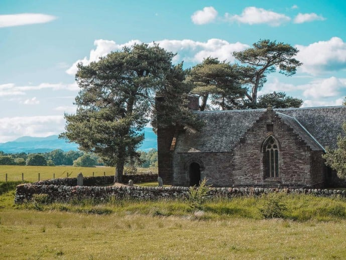 Tullibardine Chapel Outlander film location
