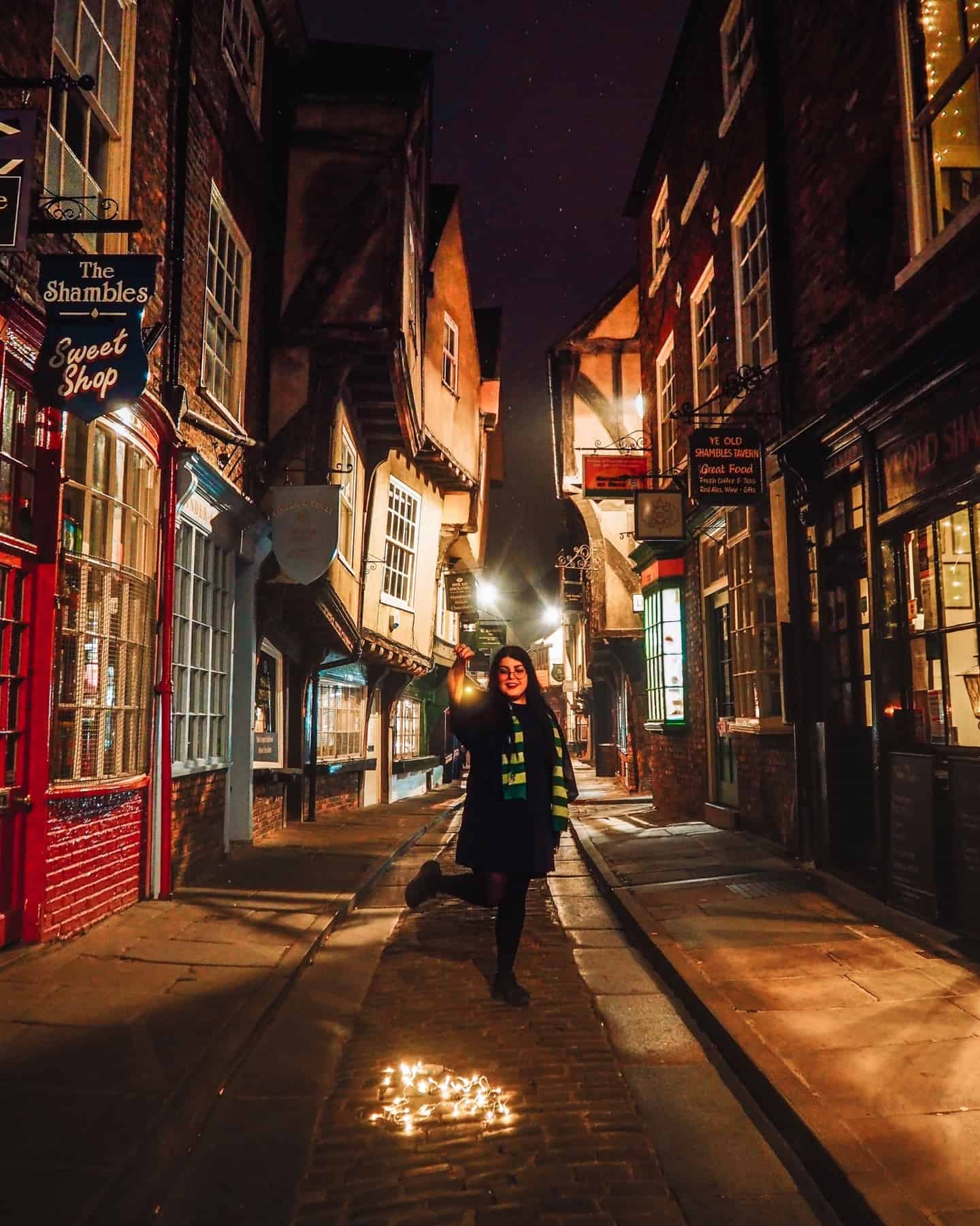 harry potter york the shambles