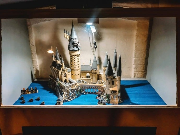 Lego Hogwarts at the potion's cauldron york