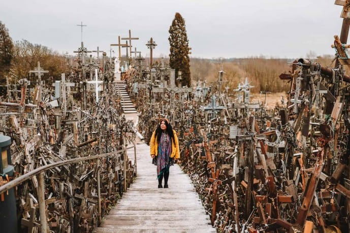 Hill of crosses dangerous