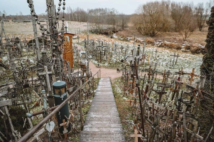 Hill of Crosses from Riga