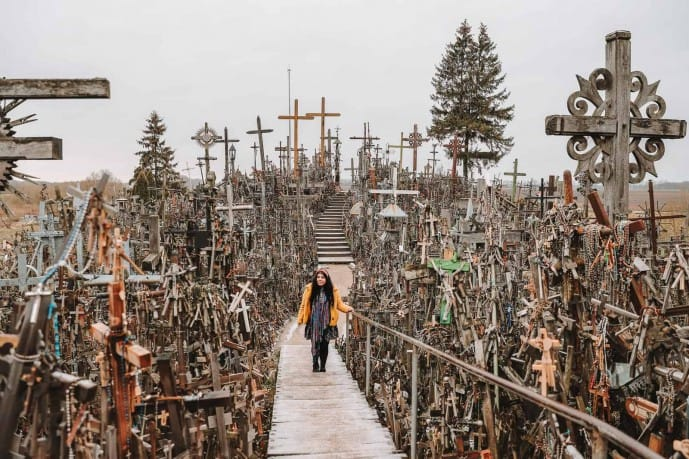 Hotels near the Hill of Crosses