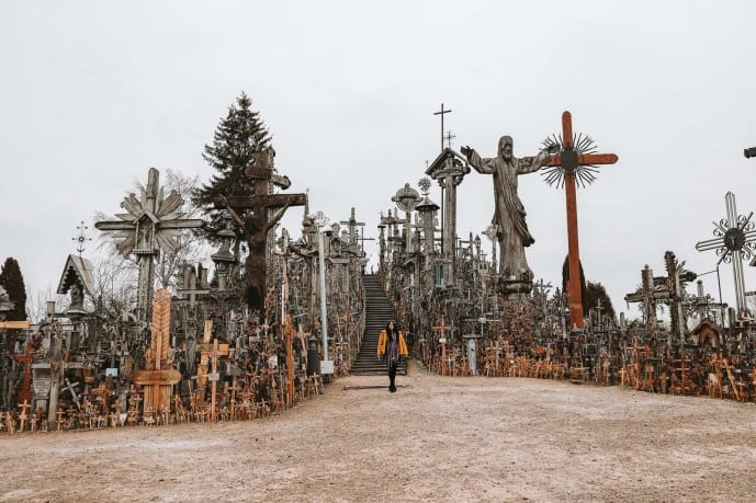 Hill of Crosses photos