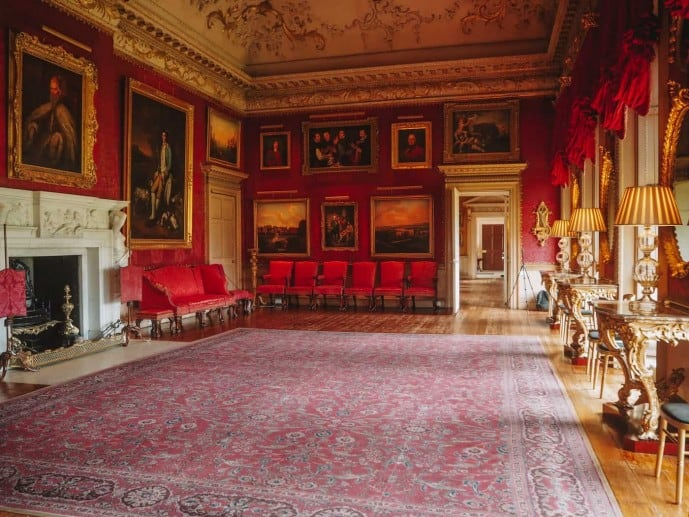 Hopetoun House red room