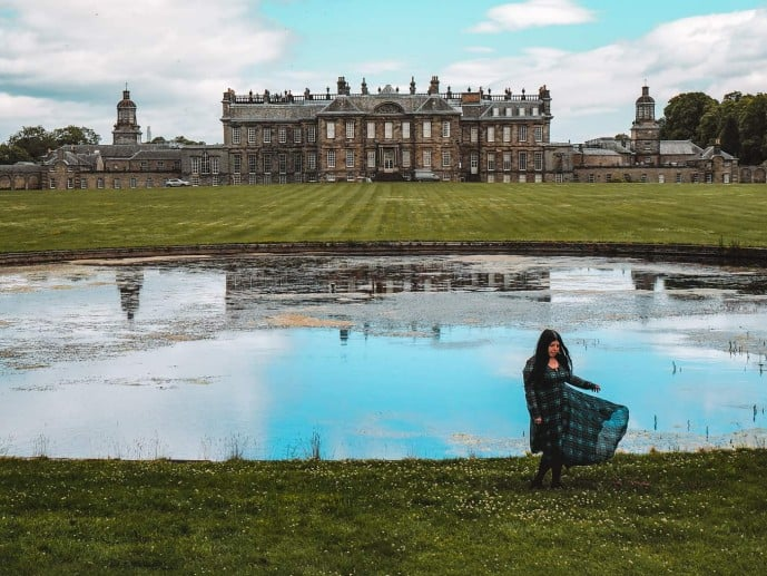 Hopetoun House Outlander locations and Grounds