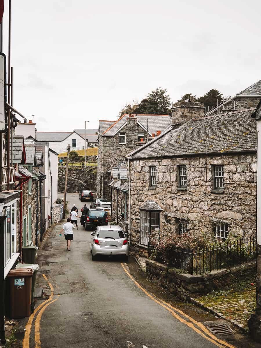 Harlech Town, Snowdonia
