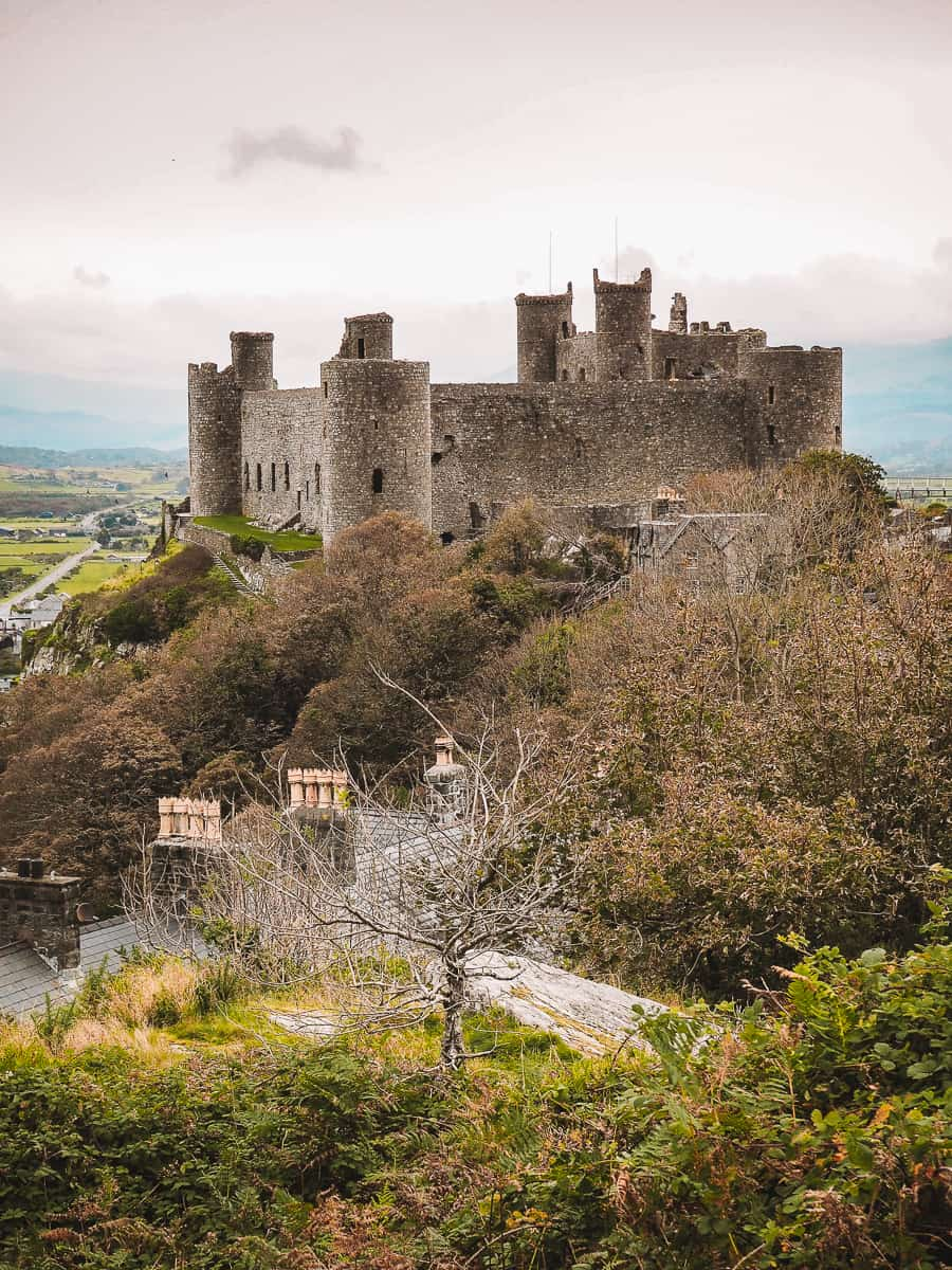 Harlech Castle Photography location