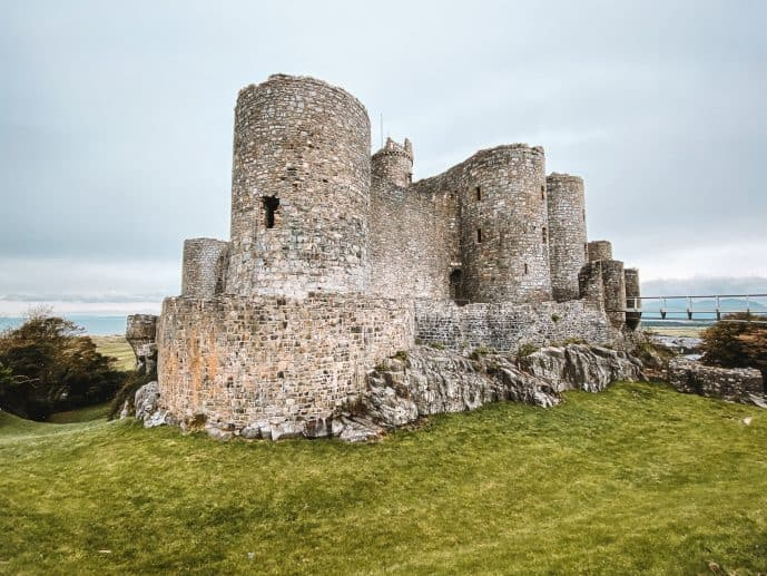 Harlech Castle fortress
