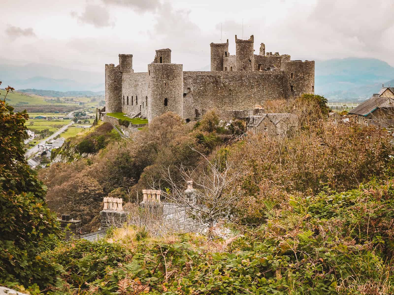 Harlech Castle Viewpoint Photography Location