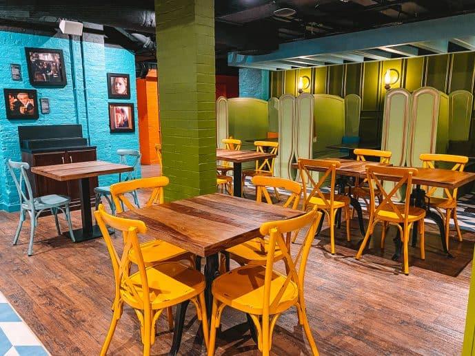 Harry POtter Butterbeer Bar London