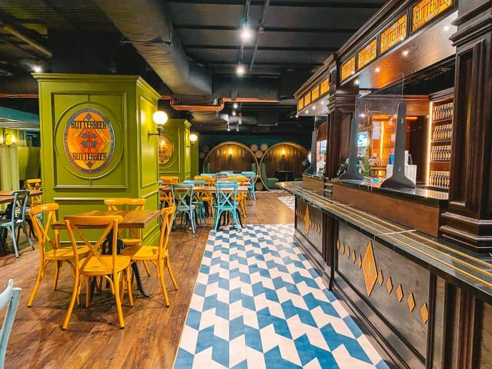 Harry Potter Butterbeer Bar London review