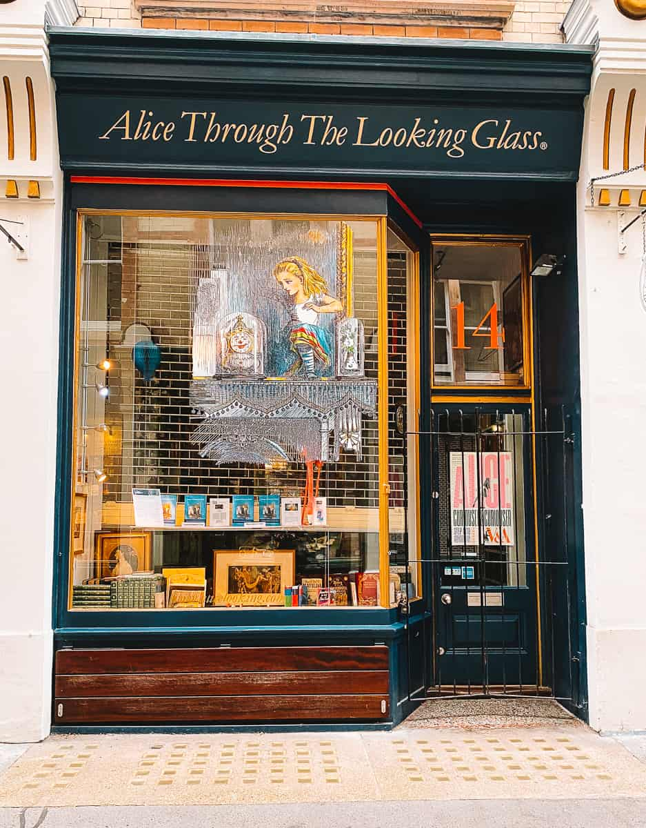 Alice Through the Looking Glass Cecil Court