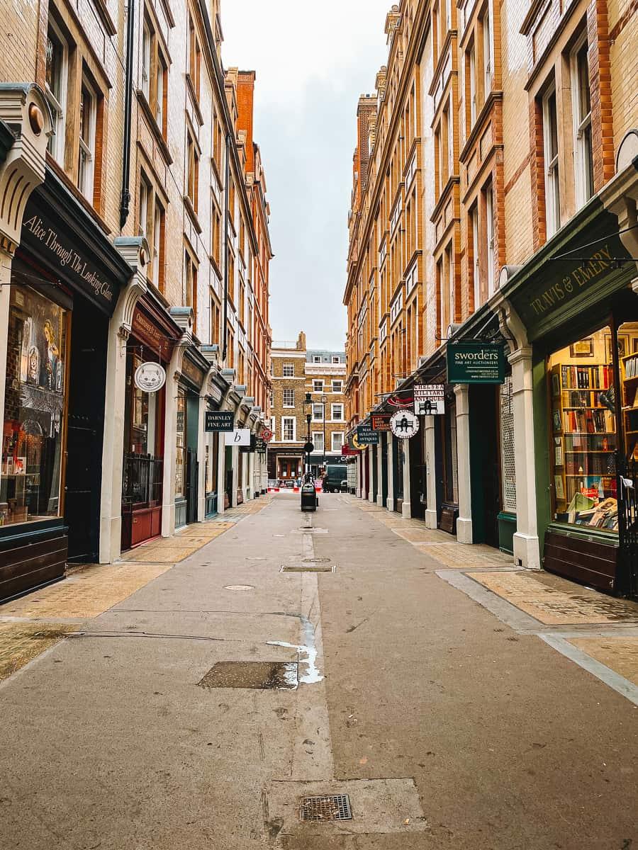 Diagon Alley Harry Potter Cecil Court London