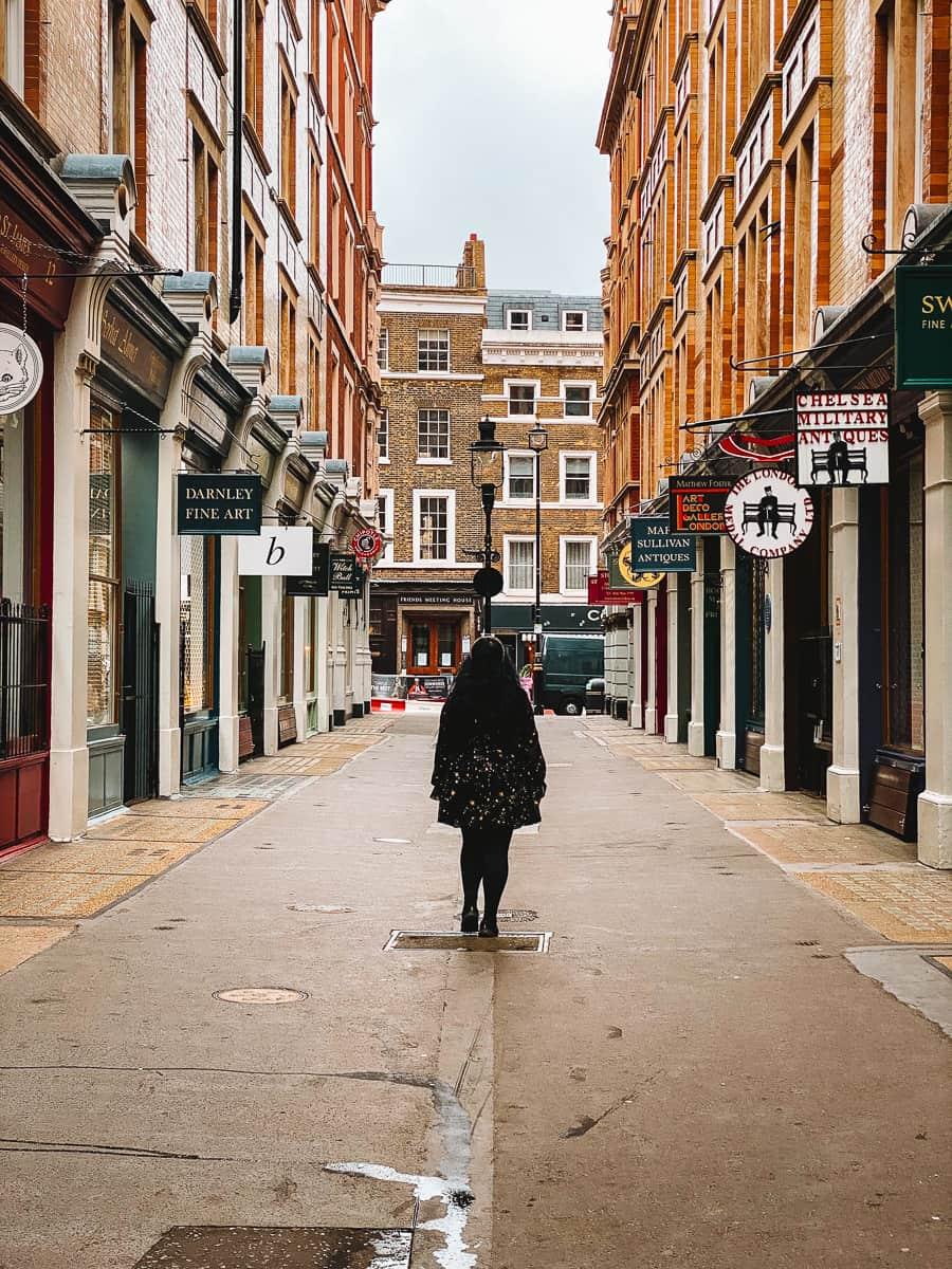 Cecil Court London Diagon Alley