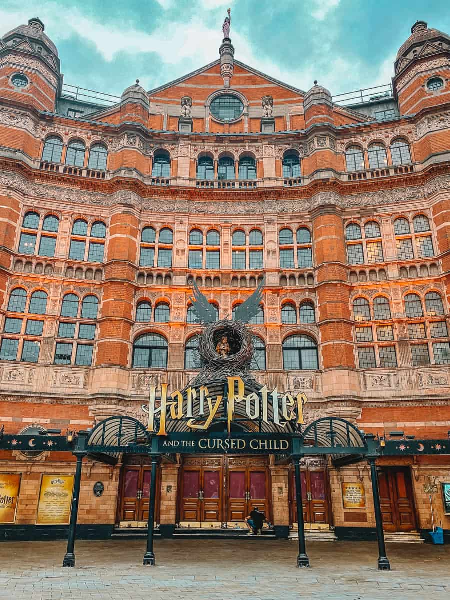 The Cursed Child at the Palace Theatre London