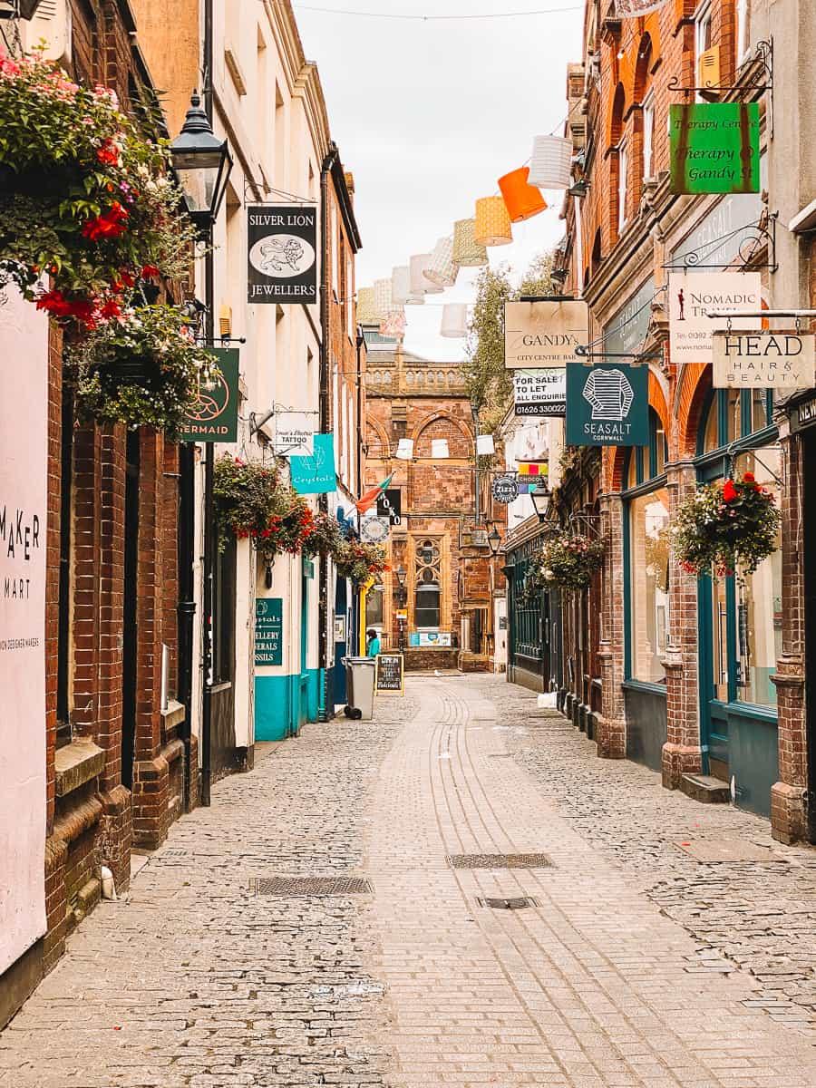 Gandy Street Exeter Diagon Alley