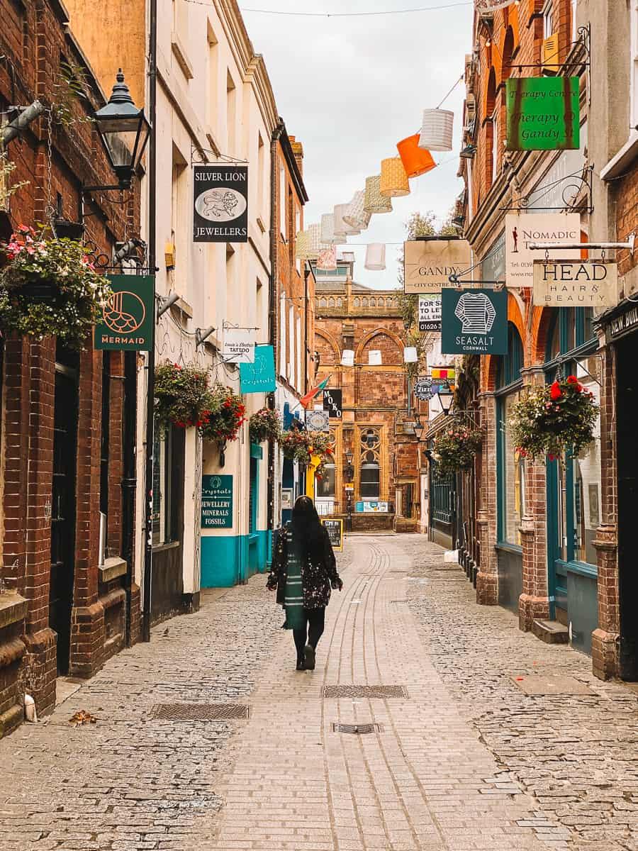 Diagon Alley Gandy Street Harry Potter Street Exeter